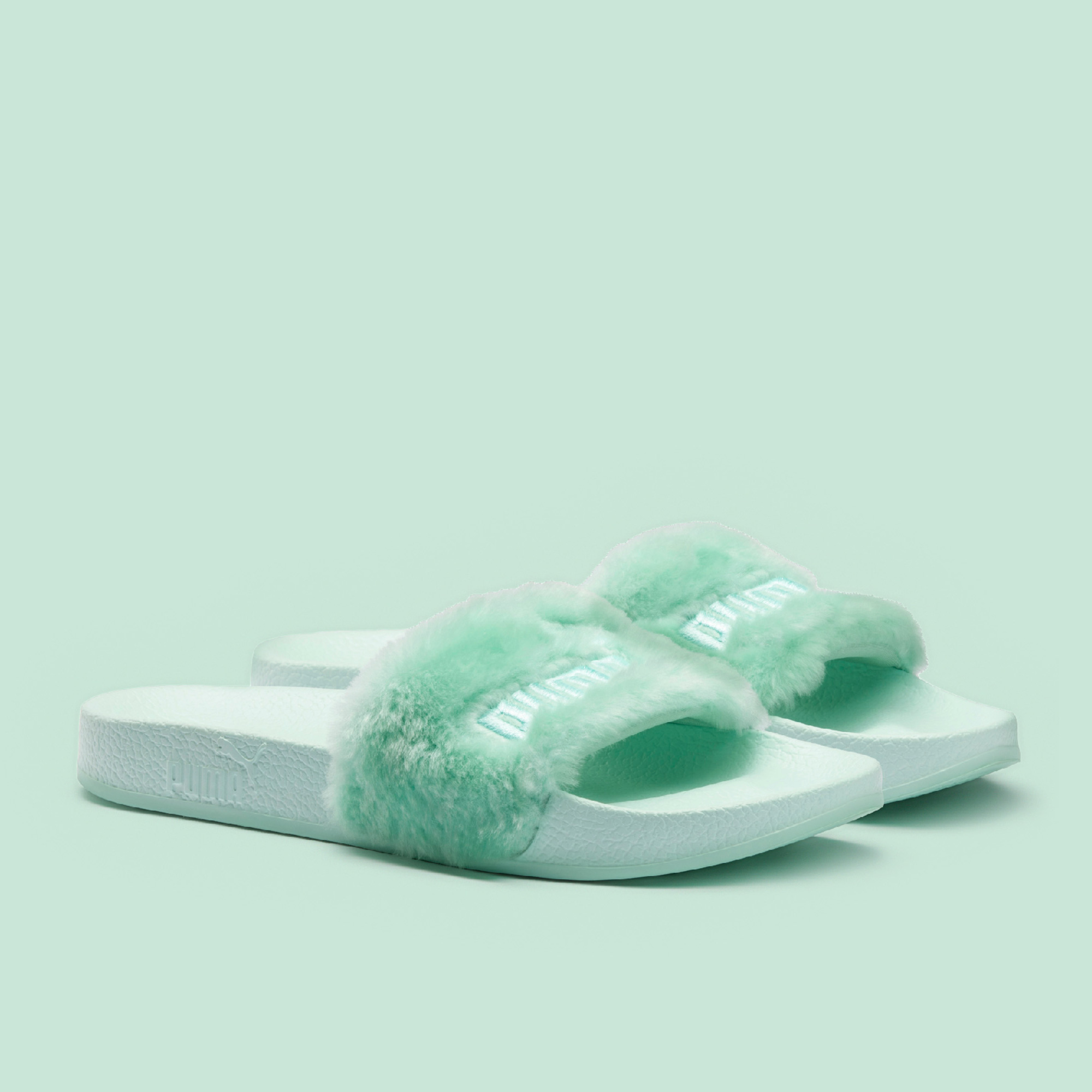 differently e9a99 ba9df FENTY X PUMA Fur Slides