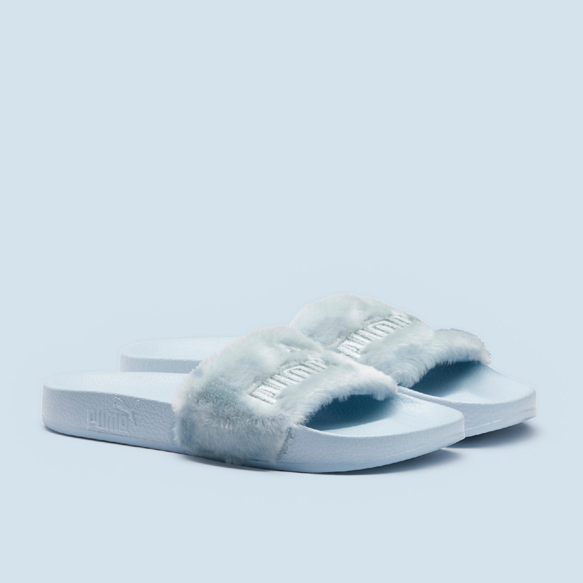 differently 94a94 404c4 FENTY X PUMA Fur Slides
