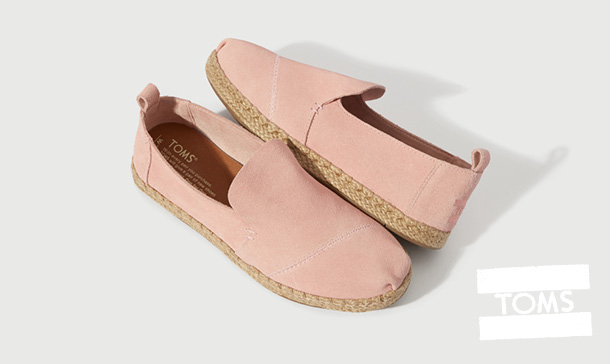 Toms Pink Shoes