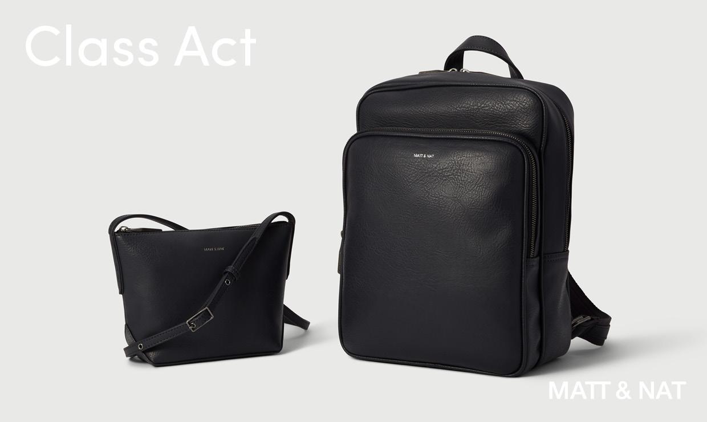 Matt & Nat black bags