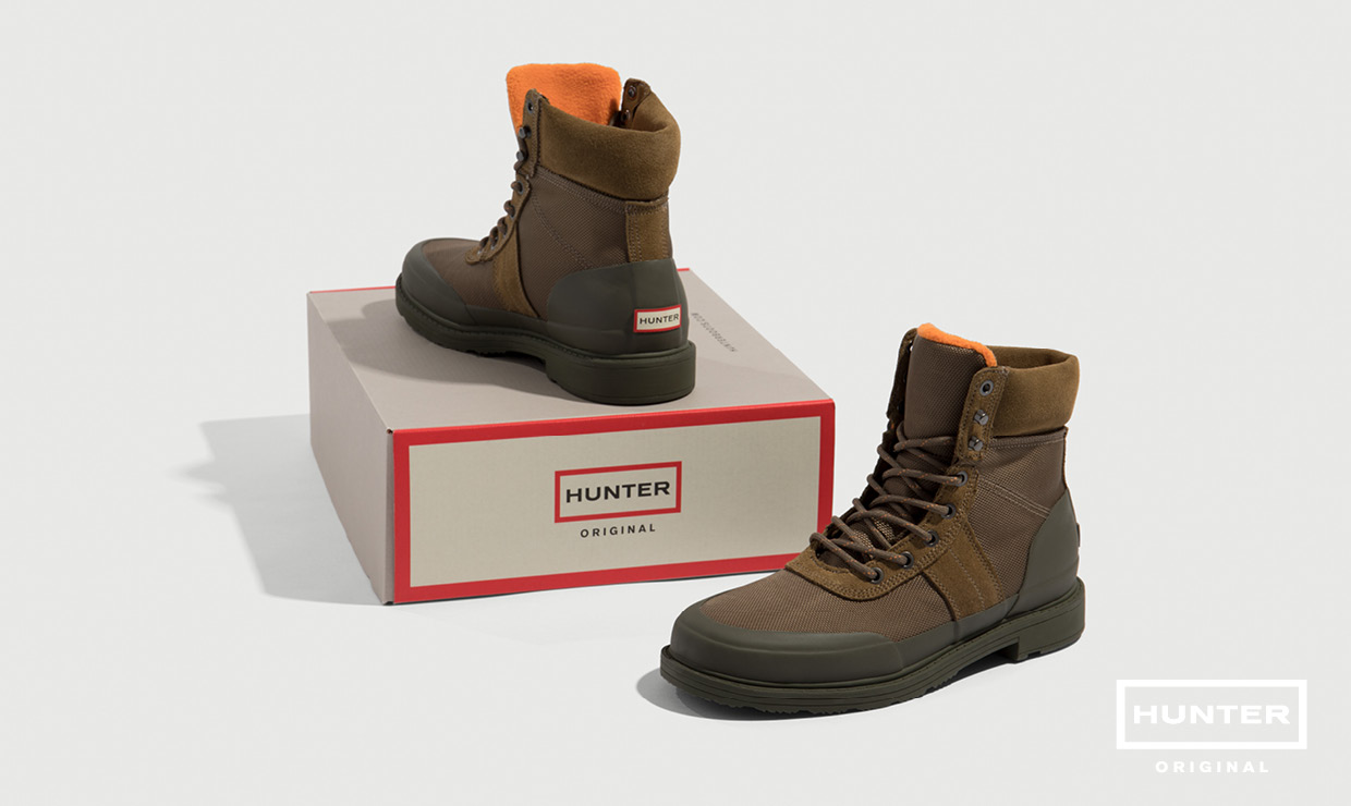 Hunter winter boots
