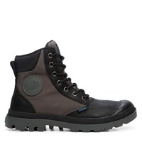 Men's Pampa Sport Cuff Waterproof Black Boot