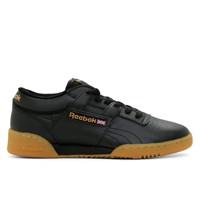 Men's Workout Low Black Sneaker