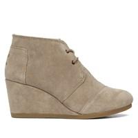 Women's Desert Wedge Suede Shoes