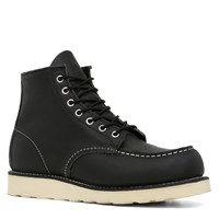 Men's 6 Classic Moc X Black/White Boot