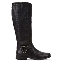 Women's Phillip Harness Tall Black Boot