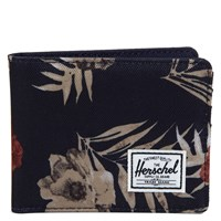 Roy Black Floral Print Wallet