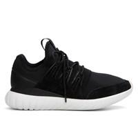 Men's Tubular Radial Black/White Sneaker