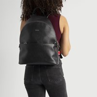 July Black Backpack