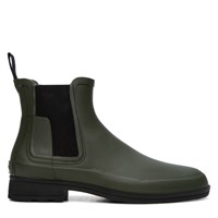 Men's Refined Chelsea Forest Green Boot