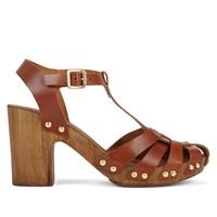 Women's Cognac Sandal