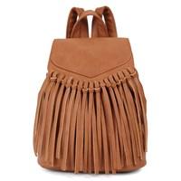 Women's Postdam Cognac Backpack