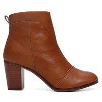 Women's Lunata Leather Cognac Boot