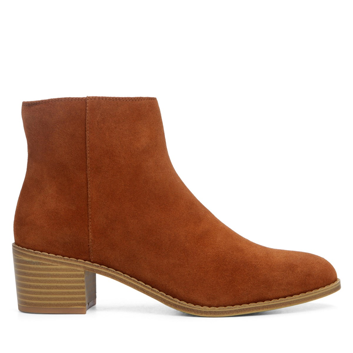 Women's Breccan Myth Camel Suede Ankle Boot