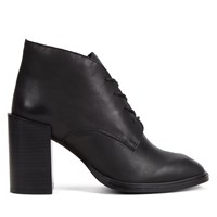 Women's Foxboro Black Leather Heels
