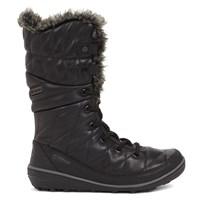 Women's Heavenly Omni-Heat Leather Black Boot