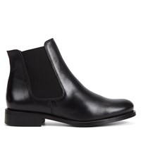 Women's Chloe Black Leather Boot