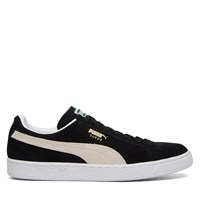 Men's Suede Classic Black/White Sneaker