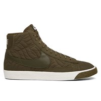 Women's Blazer Mid Premium SE Forest Green Sneaker