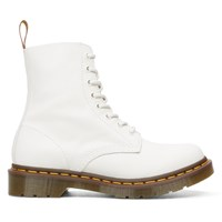 Women's Pascal 8 Eye White Boot