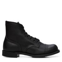 Men's Iron Ranger Vibram Black Leather Boot