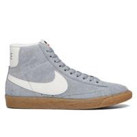 Women's Blazer Mid Suede Grey Sneaker