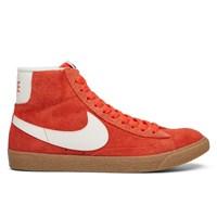 Women's Blazer Mid Suede Orange Sneaker