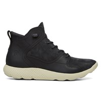 Baskets Fly Roam Leather Sport Chukka en noir pour hommes