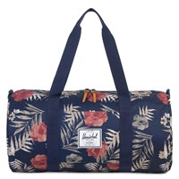Sutton Mid-Volume Black/Floral Duffel Bag