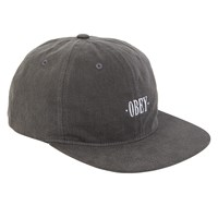 Wilhem 6 Panel Black Hat