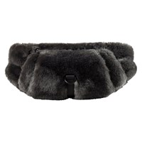 Fur Dark Grey Waistbag