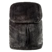 Fur Dark Grey Backpack