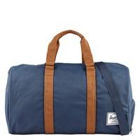 Novel Weekender Duffle Bag in Navy and Tan