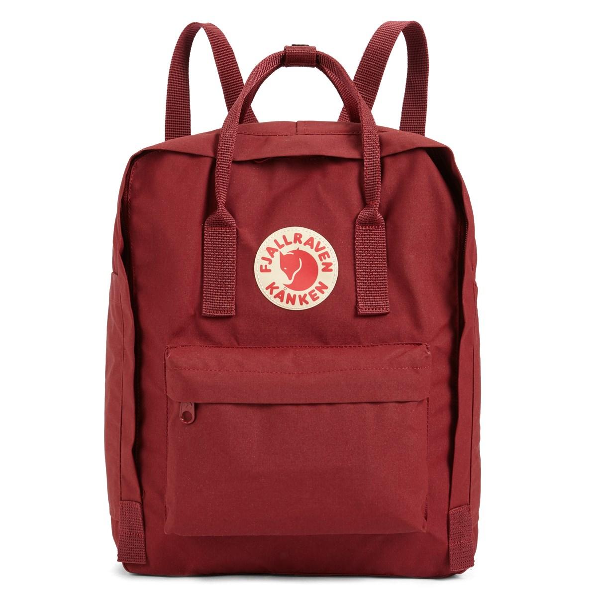 Kanken Red Backpack Little Burgundy