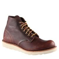 Men's Round Toe 6 Inch Brown Boot