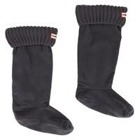 Women's Half Cardigan Black Boot Sock
