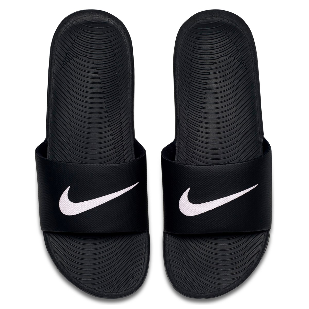 Men's Kawa Slide Black Sandals | Little Burgundy