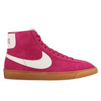 Women's Blazer Mid Suede Vintage Pink Sneaker