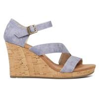 Women's Clarissa Wedge Blue Sandal