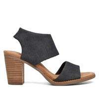 Women's Majorca Cutout Black Sandal