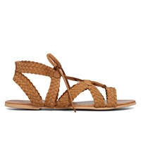 Women's Alpheda Woven Cognac Sandal