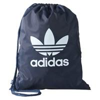 Trefoil Gymsack Black Drawcord Bag