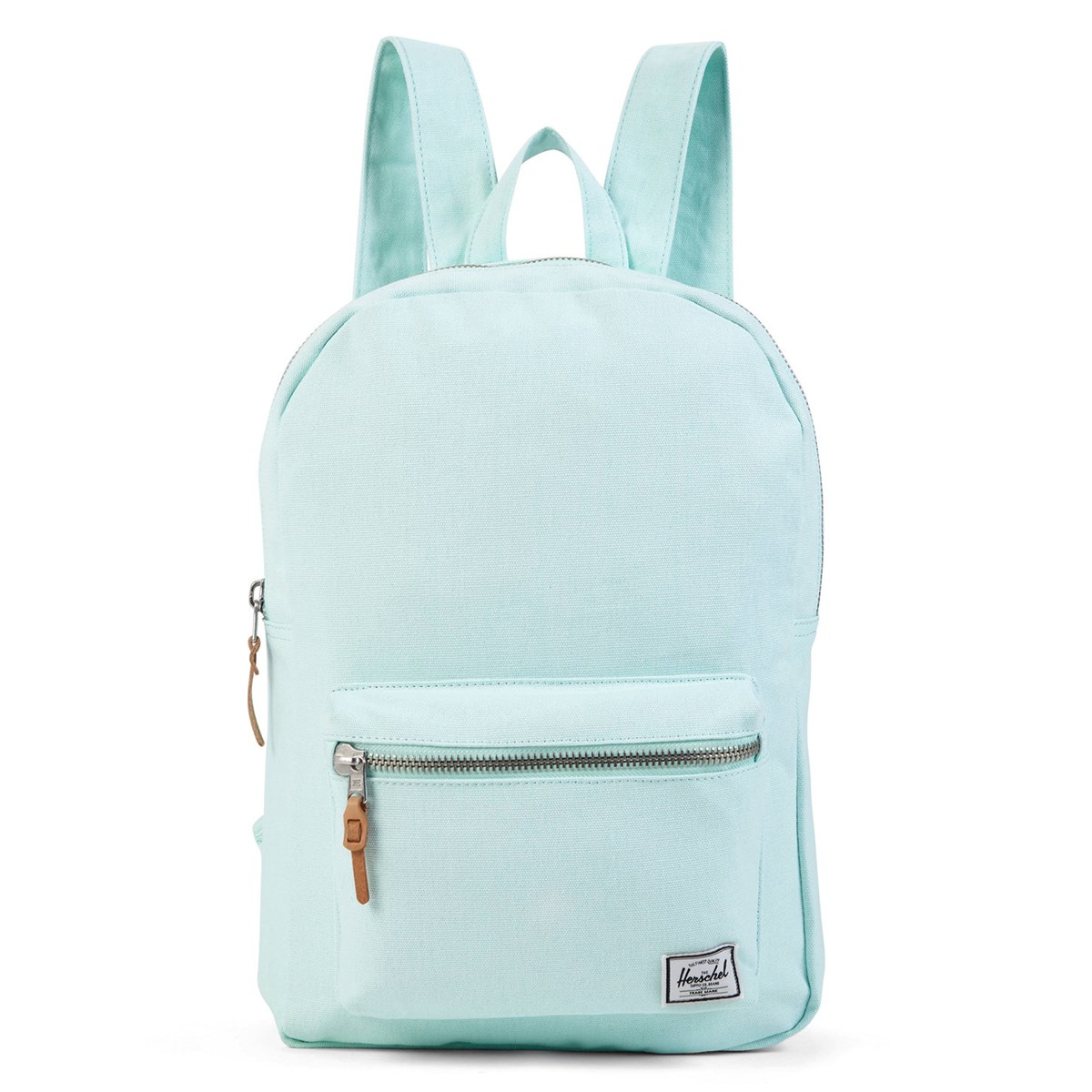 Settlement Cotton Canvas Light Blue Backpack Little Burgundy