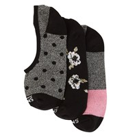 Floral Canoodle 7-10 3 Pack Socks