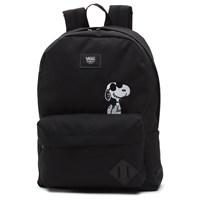 Peanuts Old Skool II Black Backpack