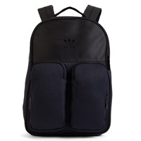 Classic Knit Black Backpack