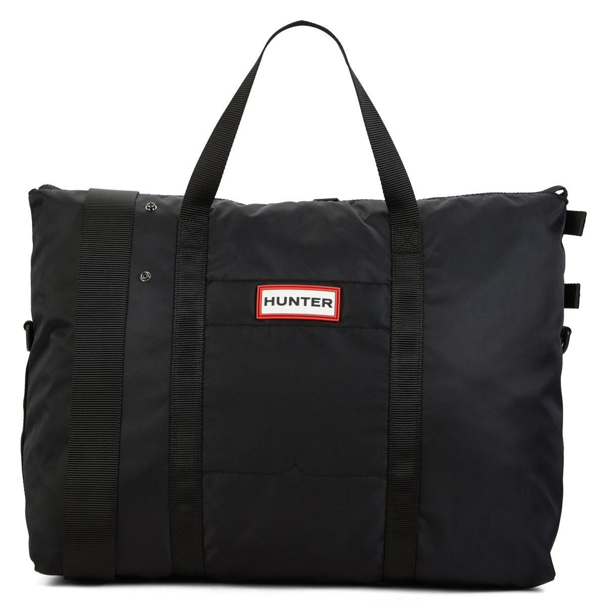 original nylon weekender black tote bag little burgundy. Black Bedroom Furniture Sets. Home Design Ideas