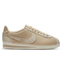 Women's Classic Cortez Premium Linen Natural Sneaker