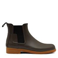 Men's Refined Chelsea Brown Boot
