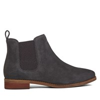 Women's Ella Iron Grey Suede Chelsea Boot